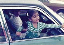Ritu in Car