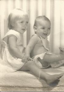 Connie and Marilyn's Toddler Pictures