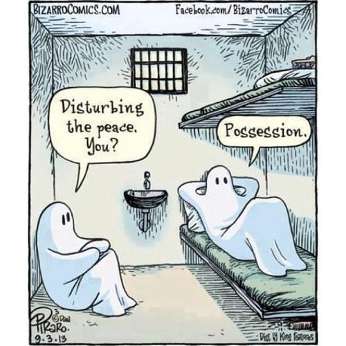 ghosts in jail